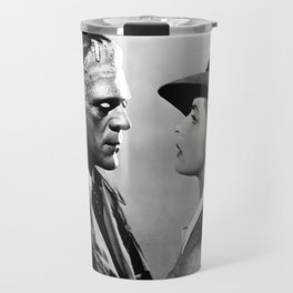 FRANKENSTEIN IN CASABLANCA Travel Mug