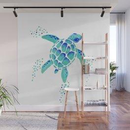 Neptune's Turtle Wall Mural
