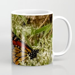 Feeding butterfly Coffee Mug