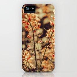 Pastel Field of Flowers iPhone Case