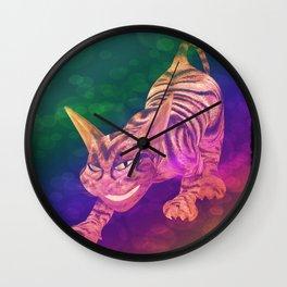 chesire cat Wall Clock
