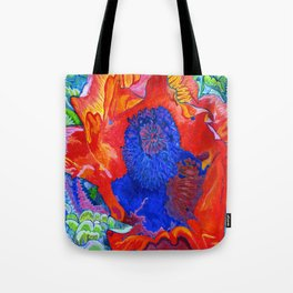 Japanese Poppy No.9 Tote Bag