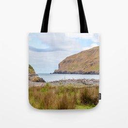 Flea Bay, Akaroa, New Zealand Tote Bag