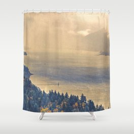 Classic Columbia Shower Curtain