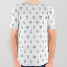 Cool lion All Over Graphic Tee