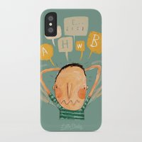 lucas david iPhone & iPod Cases featuring Lucas by Nacho Z. Huizar