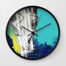cyan alternative Wall Clock