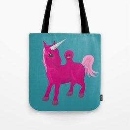 Unicorn with a Tumor Tote Bag