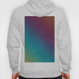 Bohek Bubbles on Rainbow of Color - Ombre multi Colored Spheres Hoody