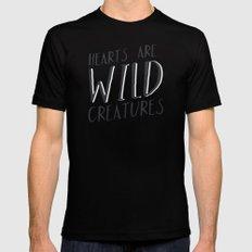 Wild Creatures Mens Fitted Tee Black MEDIUM