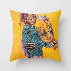 A Rosie Life Throw Pillow