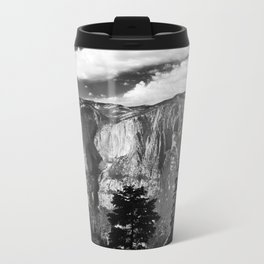 Mountains of Yosemite National Park  Travel Mug