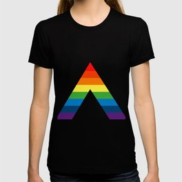 LGBT ALLY Rainbow Gay Pride Flag T-shirt