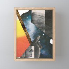 2001 - face odyssey Framed Mini Art Print