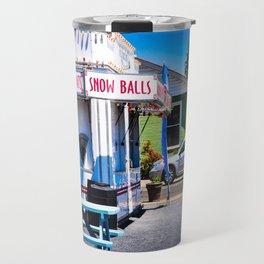 SnowBalls Travel Mug