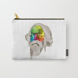 Rabindranath Tagore - popart portrait Carry-All Pouch