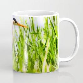 Master of the Marshes  -  Blue Heron Coffee Mug