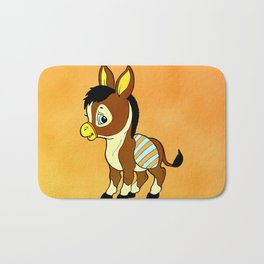 Childhood Donkey Bath Mat