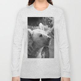 Syrian Brown Bear Portrait Long Sleeve T-shirt