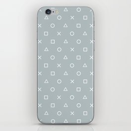 Gamer in the Fog iPhone Skin