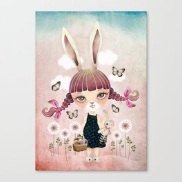 Sugar Bunny Canvas Print