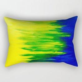 Spring Breeze Abstraction  Rectangular Pillow