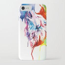 Rainbow Wolf iPhone Case