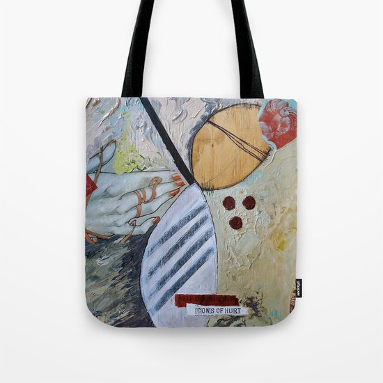 Icons of Hurt Tote Bag
