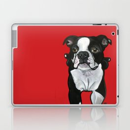 Bobo the Boston terrier Laptop & iPad Skin