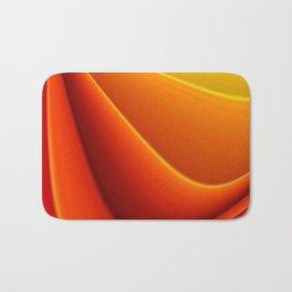 Orange caressing Bath Mat
