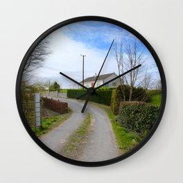 Irish Home Wall Clock