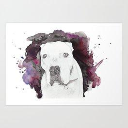 Portland Dog Art Print