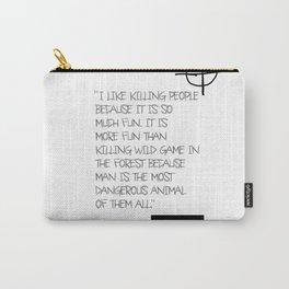 Zodiac Killer Carry-All Pouch