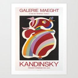 kandinsky periode parisienne vintage Poster Art Print