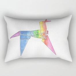Origami Unicorn - Blade Runner Rectangular Pillow