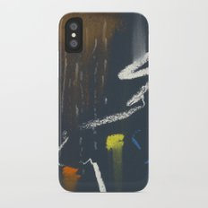see the sky about to rain iPhone X Slim Case