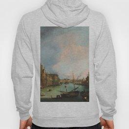 Canaletto Bernardo Bellotto - The Grand Canal In Venice Hoody