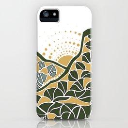 Geometric Mountain iPhone Case