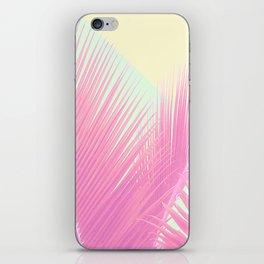 Pastel Blush Palm iPhone Skin