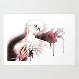 Judas Kiss Art Print