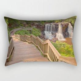 Winding Blackwater Falls Rectangular Pillow