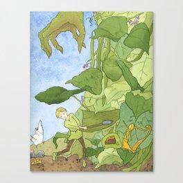 Hurry, Jack! Canvas Print