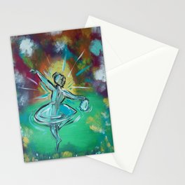 Adoration in Dance Stationery Cards