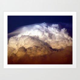 Dark Clouds Art Print