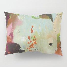 """Deep Embrace"" Original Painting by Flora Bowley Pillow Sham"