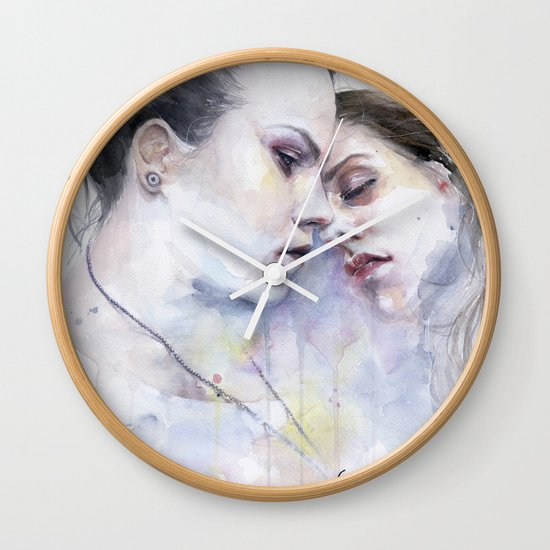 xx Love Wall Clock