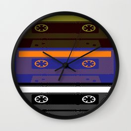i love retro Wall Clock