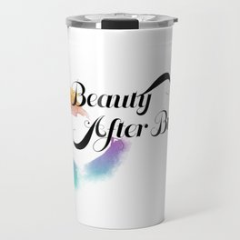 Beauty After Bruises (Black) Travel Mug