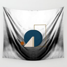 Abstrato 03 // Abstract Geometry Minimalist Illustration Wall Tapestry