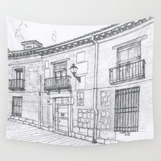 Alcalá Street Wall Tapestry